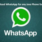 Whatsapp for Java Phones – How to Download and Install