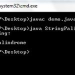 String Palindrome in Java