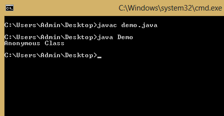 Anonymous-Class-in-Java
