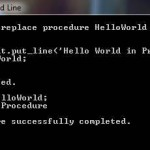 PL/SQL Procedure