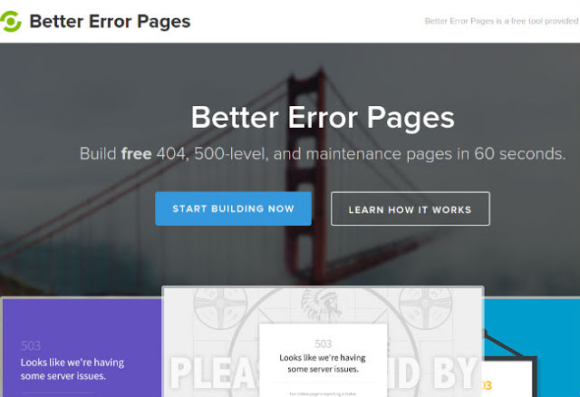Better Error Pages