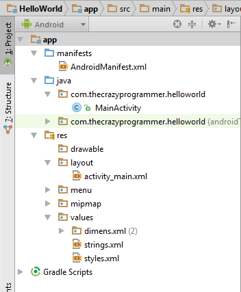 Basic Overview of Android Application