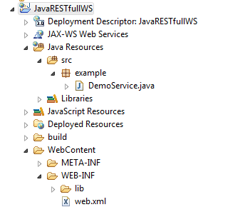 Create Simple Java RESTful Web Services Using Jersey 2