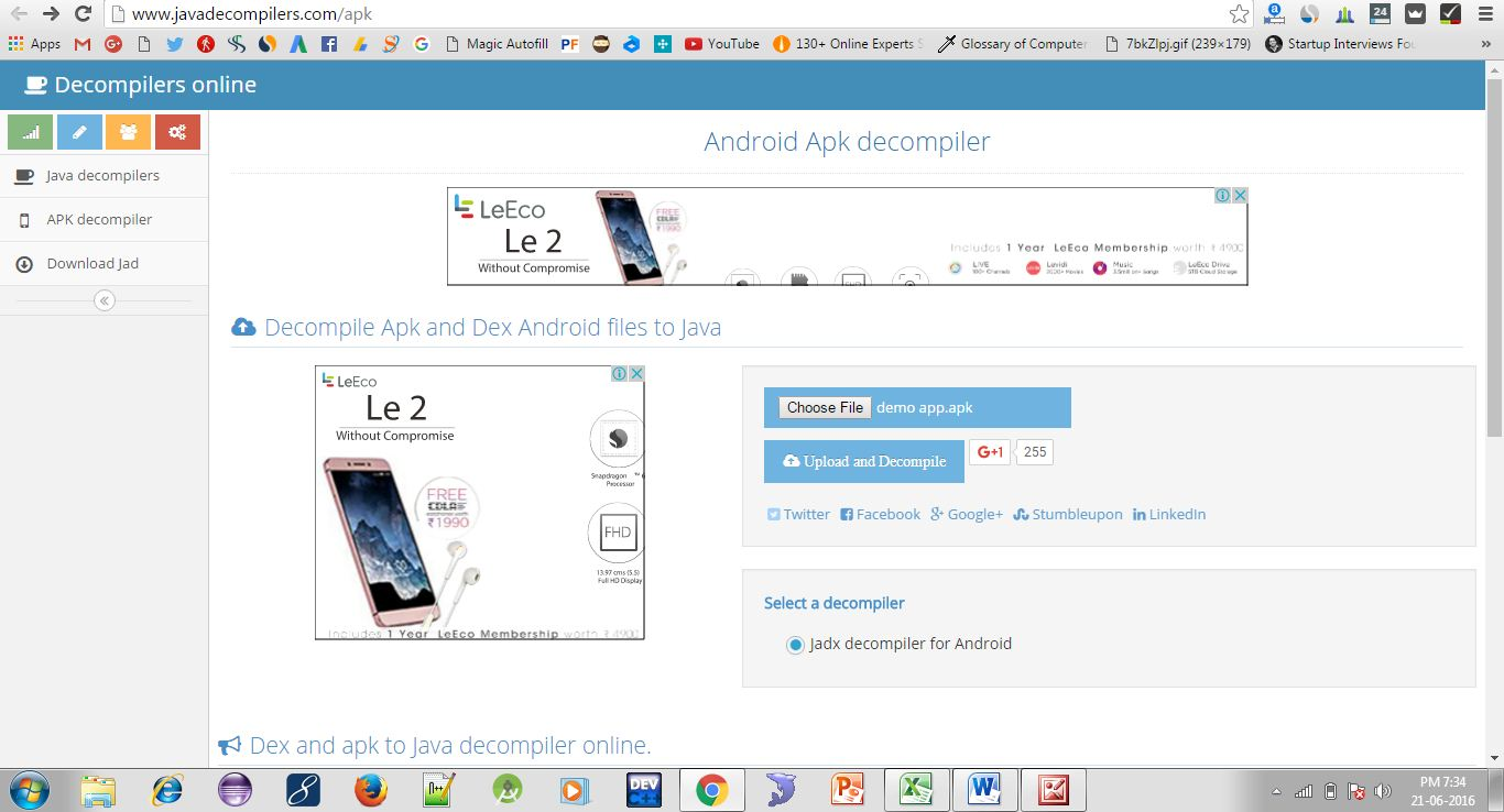 Decompile APK to Source Code in Single Click