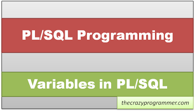 PL/SQL Variables
