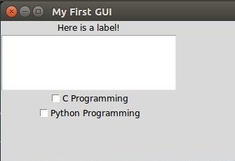 Python GUI Programming (Tkinter) - Part II - The Crazy