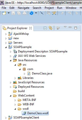 Create Java SOAP Web Service Using Eclipse 8
