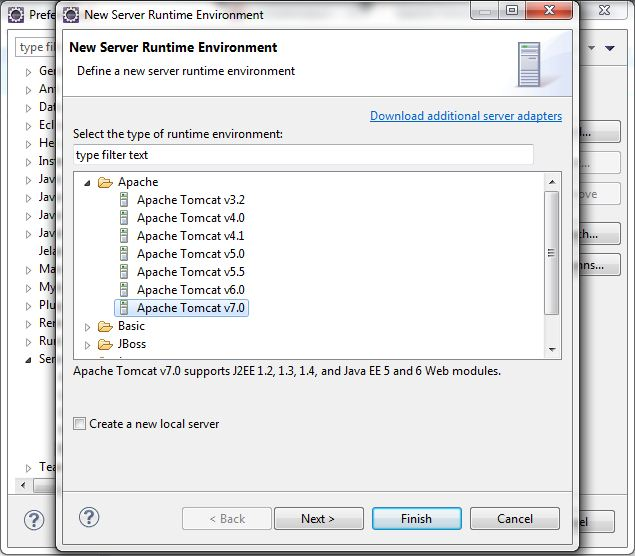 Configure Apache Tomcat Server in Eclipse IDE 5