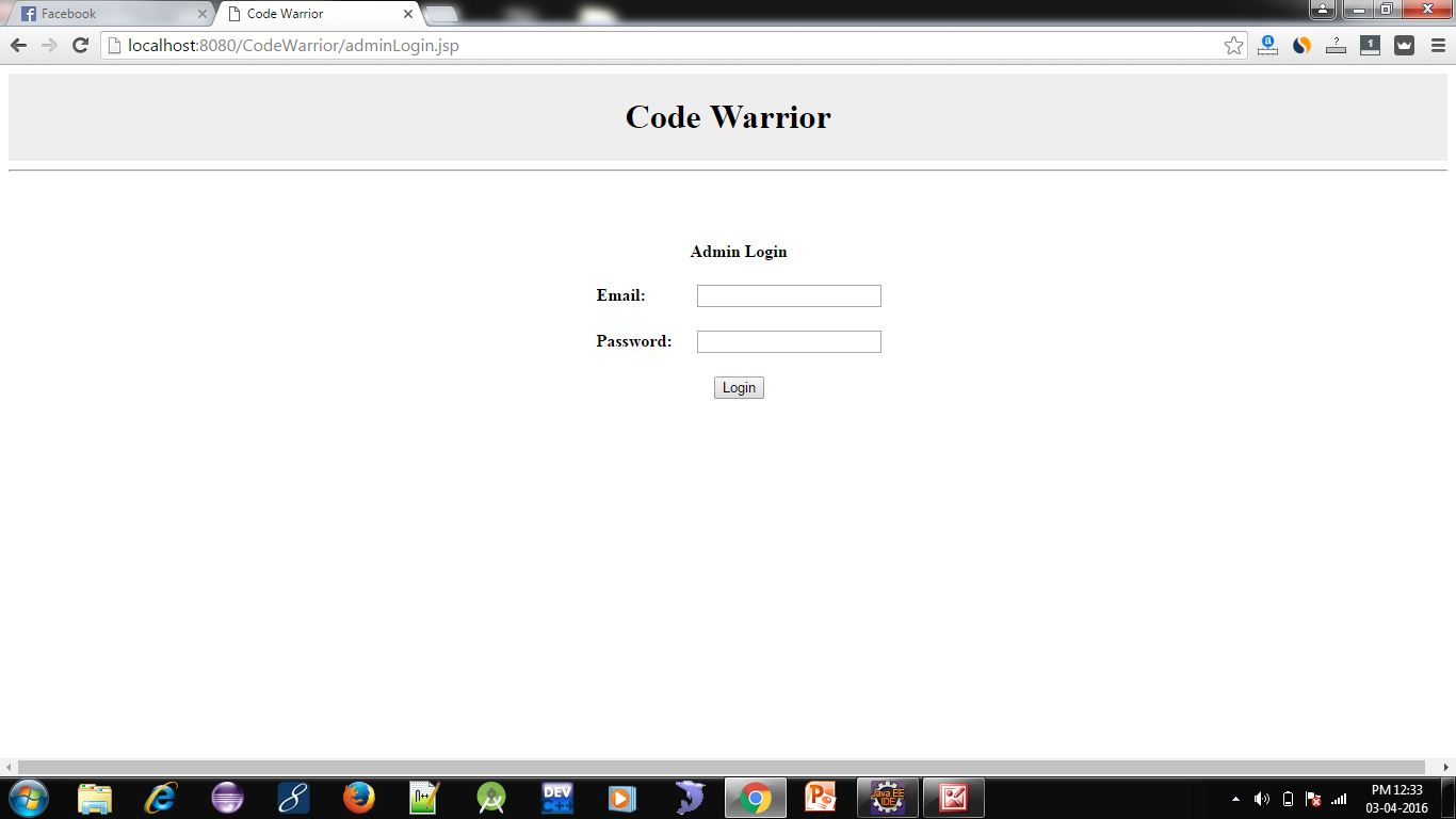 Online Quiz System Project in JSP 4