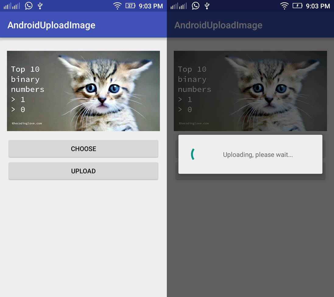 Android Upload Image to Server Using Volley