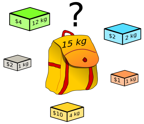 Knapsack Problem in C Using Dynamic Programming