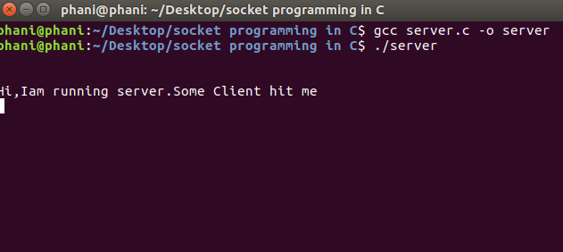 Socket Programming in C 1