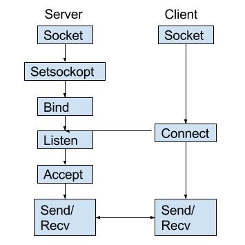 TCP IP Socket Programming (Client and Server)