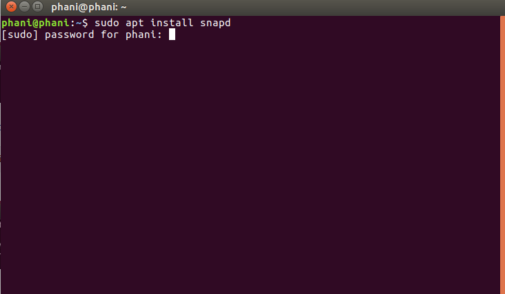 Install Atom Text Editor in Ubuntu Using SNAP 1