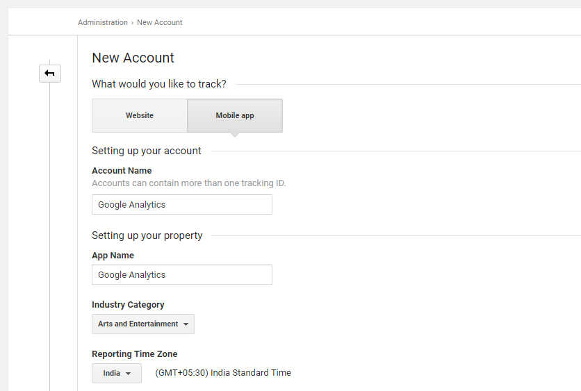 Android Google Analytics Integration Tutorial 1