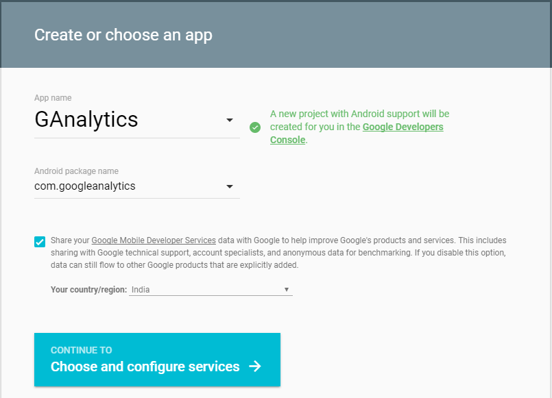 Android Google Analytics Integration Tutorial 3