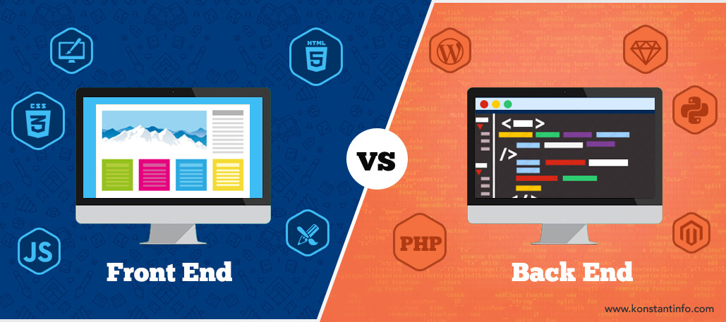 Difference between Frontend and Backend  - Difference between Frontend and Backend - Difference between Frontend and Backend