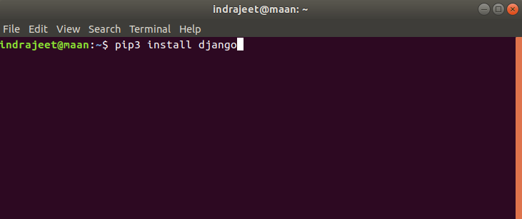 Install Django Linux 1  - Install Django Linux 1 - How to Install Django on Windows/Linux/Mac