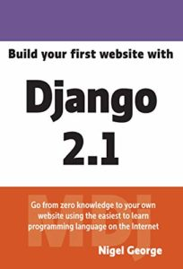 Build your first website with Django 2.1