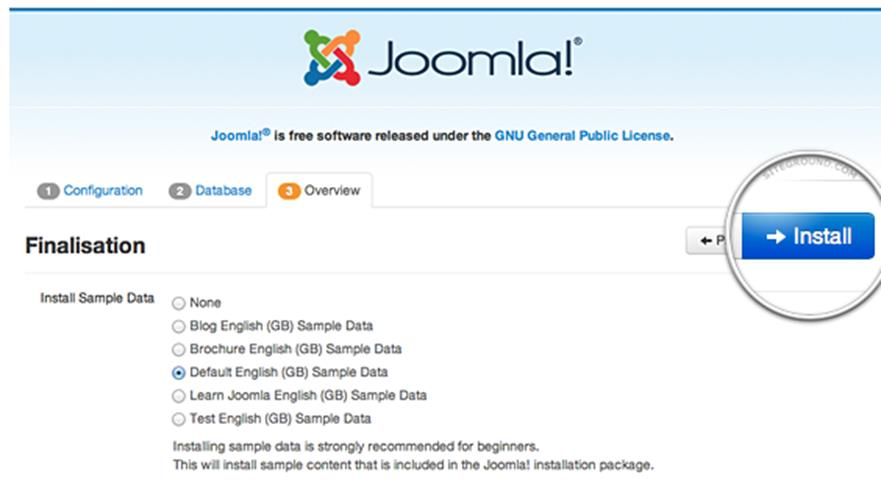 How to Install Joomla 3 on Web Hosting 5