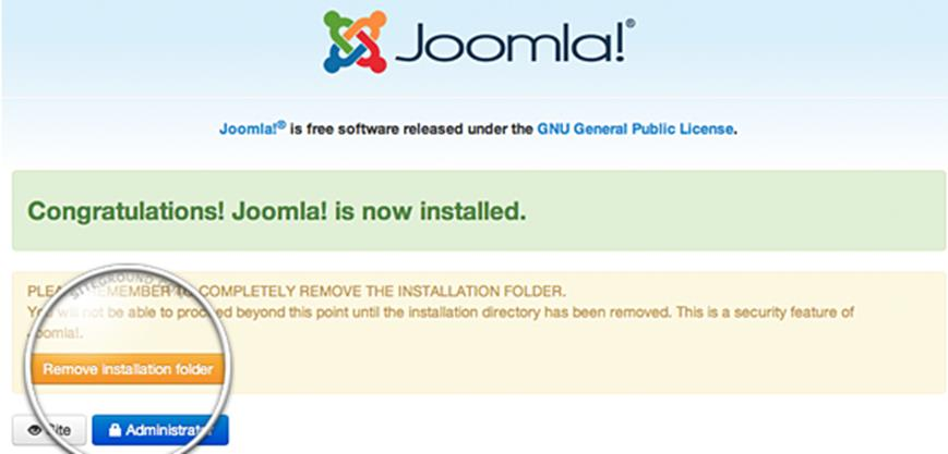How to Install Joomla 3 on Web Hosting 6