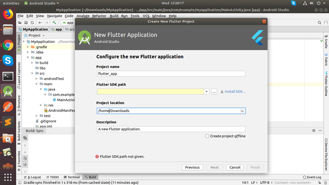 flutter installation step 2