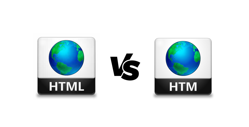 HTML vs HTM - Difference between HTML and HTM