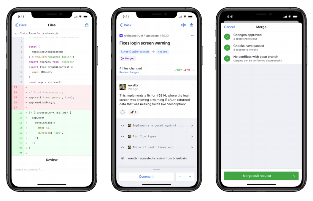 GitHub Mobile App Launched