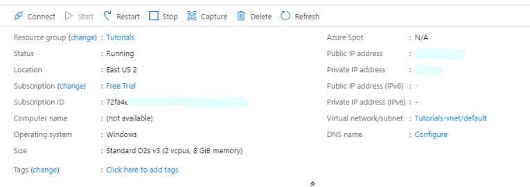 Azure Virtual Machine Tutorial 14