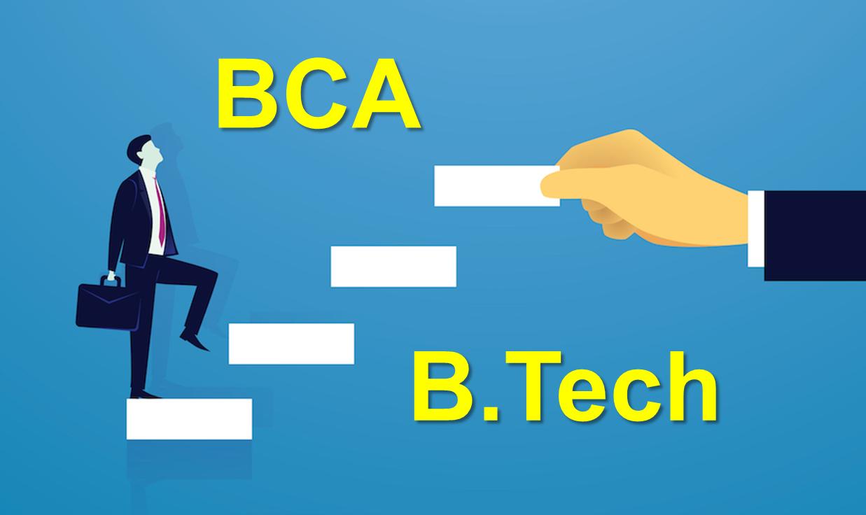 BCA vs B.Tech