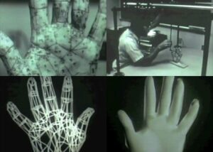 Edwin Catmull created an animation of his hand opening and closing